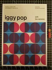 Iggy Pop Concert Poster -  14 x 10 Reprint