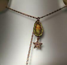 Beautiful Danish Pilgrim Russian doll necklace