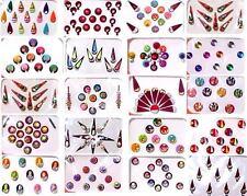 Bindi Indian Set of 20 Assorted Packs Forehead Art Tika Kumkum