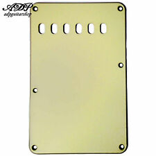 "PLAQUE VIBRATO Tremolo BackCover STRAT US MINT GREEN  3ply .090"" 56mm PG0556-024"