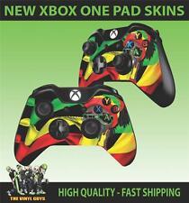 Mando Para Xbox One Pad pegatina Rasta Man rastas Skins Imágenes Pegatinas X 2