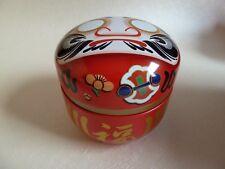 Teedose, Hergestellt in Japan,DARUMA(達磨),Bonbondose, Nittoh,Glücksbringer