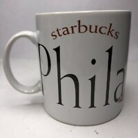 Starbucks 1994 Philadelphia Coffee Mug