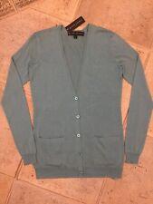 Ralph Lauren Silk Cashmere Cardigan Black Label Collection XS RRP£995 NEW