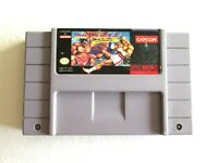 Street Fighter II: Turbo SNES (Super Nintendo, 1993) Authentic + Tested