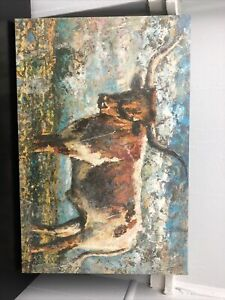 Western Longhorn Home Decor Picture