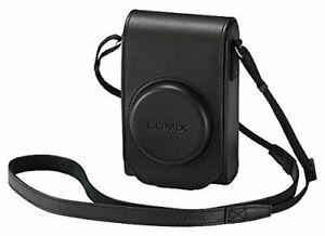 100% GENUINE Original Panasonic LUMIX Black Leather Case for DMC-TZ100 DMC-TZ101