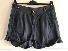 0853b398e26c Designer TED BAKER Womens Shorts  Denim  W26  Blue  Buttons  Genuine