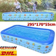 Schwimmbecken Swimming Pool Erwachse Kinder Planschbecken Schwimmbad DHL
