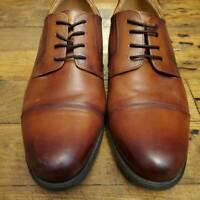 Florsheim Mens Dress Oxfords Cap Toe Brown Comfortech Leather Lace Up Career 10