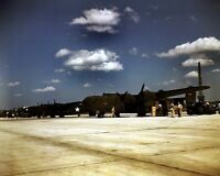 New 8x10 World War II Photo: New C-87 Transport Planes at Consolidated Aircraft