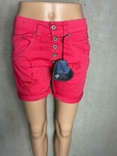 PLEASE - coole  Shorts P88A kurze Hose pink Stripe  NEU - Gr. 42 XL 111ju