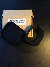 Haoge 52mm LH-E52T Lens Hood +Haoge Square Metal Cover Cap