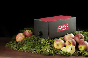 Kuhns Apfelsaft Naturtrüb Bag in Box 2x5,0l