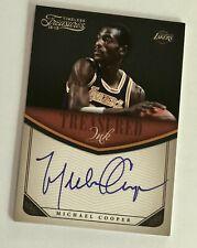 2012-13 Panini Timeless Treasures MICHAEL COOPER Lakers Treasures Ink Auto /199