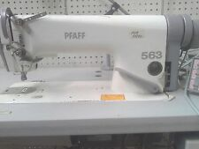 Pfaff Sewing Machine, MN 563G-900/99, Flat Bed Industrial Sewing Machine, USED