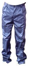 Mens Classic Work Wear Smart Casual Blue Trousers Size W 44 - L 31 NEW (E)