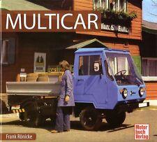 Book - Multicar 1956 2010 - East German Light Truck - Brochure Photos - Ronicke