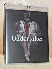 The Undertaker (Blu-ray/DVD, 2017, 2-Disc Set) NEW Joe Spinelli Rebeca Yaron