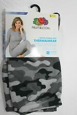 CAMOUFLAGE THERMALWEAR Fruit of the Loom  Pants  Sz L