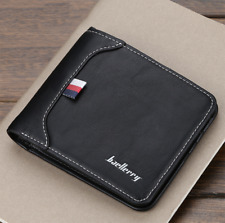 Men's Bifold Wallet ID Credit Card Holder Billfold Money Purse Clutch Pocket