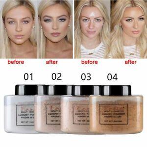 Profissional Face Foundation Powder Makeup Smooth Loose Powder Banana Powder