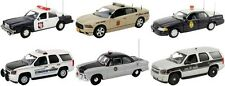 SET OF 6 POLICE CARS RELEASE #5 1/43 BY FIRST RESPONSE REPLICAS FR-43-R05