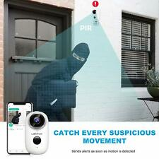 Rechargeable Battery Security Camera Wifi, Wireless CCTV 1080P Waterproof Motion