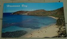 Vintage Color Photo Postcard, Hanauma Bay, Hawaii, VG CND