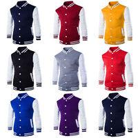 Winter Men's Coat Jacket Outwear Sweater Slim Hoodies Warm Hooded Sweatshirt
