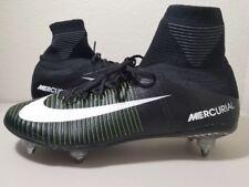 Nike Mercurial Superfly V SG 11 Black White Green Navy Soccer Cleats 845050-014