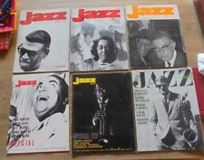 Jazz Hot & Jazz Magazine lot de 6 de 1966 à 1969