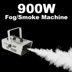 900W Smoke Fog Machine Effect Stage Fogger Maker Equipment Rapid Heating Release