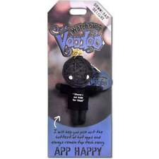 WATCHOVER VOODOO DOLLS *APP HAPPY* KEYRING KEYCHAIN BAG CHARM 10801-0063
