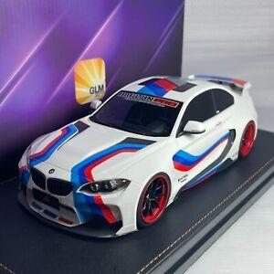 1/18 GLM DarwinPRO BMW M235 Olympic WhiteMTC Design M2 Virtual Reality GLM188001