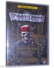 PIRATI DEI CARAIBI - LA COLLEZIONE COMPLETA (4 DVD) COFANETTO WALT DISNEY