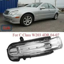 1PC Left Rearview Mirror LED Turn Signal Light for Mercedes C Class W203 2004-07