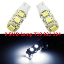 2x Xenon White LED Back Up  Reverse  Light  Bulbs 9 SMD Lamp T10 921 194 #R2