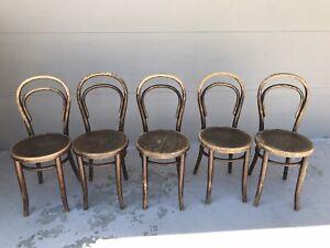 Vintage 1930\u2019s child\u2019s bentwood cafe style chair 23x13x12.5\u201d