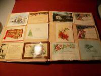 "VTG LOT 170 + 1920's,30""s 40""s CHRISTMAS,POST CARDS EPHEMERA, SCRAPBOOK"