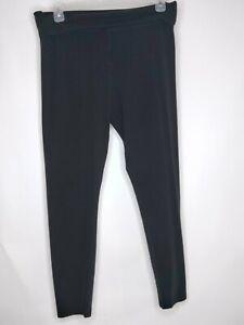 Victorias Secret Women Size XL Long Color Black Elastic Waist Stretch Yoga Pants
