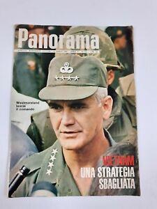 """NUMERO STORICO SETTIMANALE """"PANORAMA"""" 1968 SUL VIETNAM. N. 103 del 04 aprile 196"""