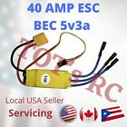 40AMP ESC XT60   40A DEANS ESC 5V3A BEC  FPV Drone RC Plane FPV Wing Helicopter