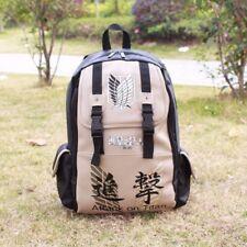 Anime Attack on Titan No Kyojin Scouting Shoulder Bag School Bookbag Backpack