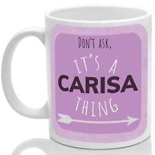 Carisa's mug, Its a Carisa thing (Pink)