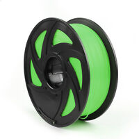 3D Printer Filament 1.75mm PLA 1kg/2.2lb For Drawing Printer Pen MakerBot Green.