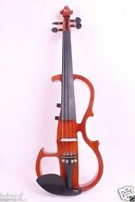 Yinfente 4/4 Electric Violin Big jack Powerful Sound Solid wood Bow Case Fiddle