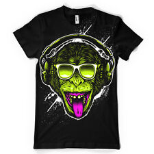 FUNKY MONKEY DJ HEADPHONES mens t-shirt tee