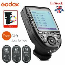 UK Stock Godox XPro-N 2.4G Wireless Flash Trigger+3pcs XTR-16 Reveiver For Nikon