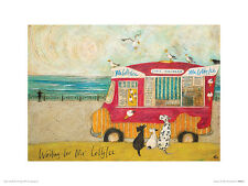 Sam Toft (Waiting for Mr Lollyice) Art Prints PPR44465 ART PRINT 30cm x 40cm